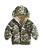 Boy's Infant/Toddler Camo Blude Ridge Jacket