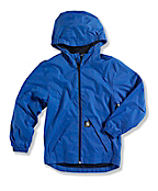 BOY'S Packable Hooded Rain Jacket