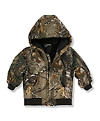 Infant/Toddler Boys' Realtree Xtra® Camo Active Jac - Quilted Flannel Lined