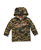 Infant/Toddler Boys' Camo Logo Fleece Zip Front Sweatshirt