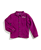 Girls Washed Uncut Corduroy Jacket