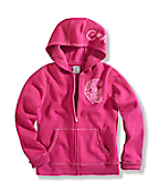 Girl's Cozy Zip-Front Jacket