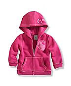 Infant/Toddler Girl�s Cozy Zip-Front Jacket