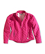 Girls' Quilted Riding Jacket