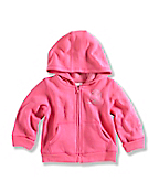 INFANT GIRL'S COZY ZIP FRONT JACKET