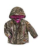 Infant/Toddler Girls' Camo Boone Jacket