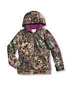 Girls' Cameo Fleece Zip Front Sweatshirt