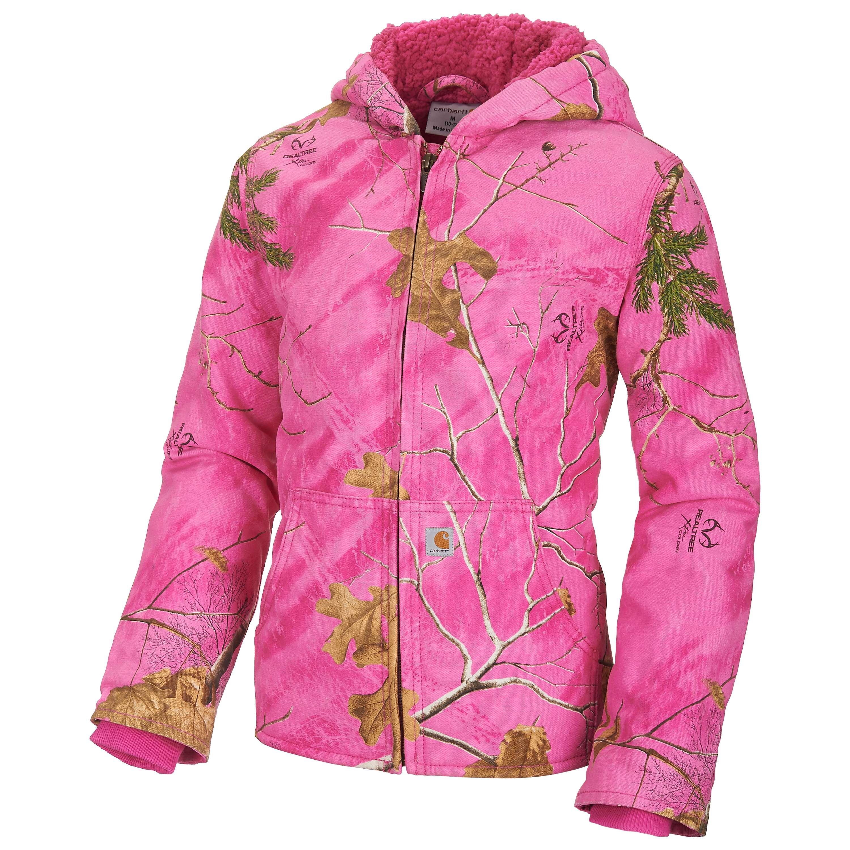 Carhartt Pink Realtree Xtra Redwood Jacket
