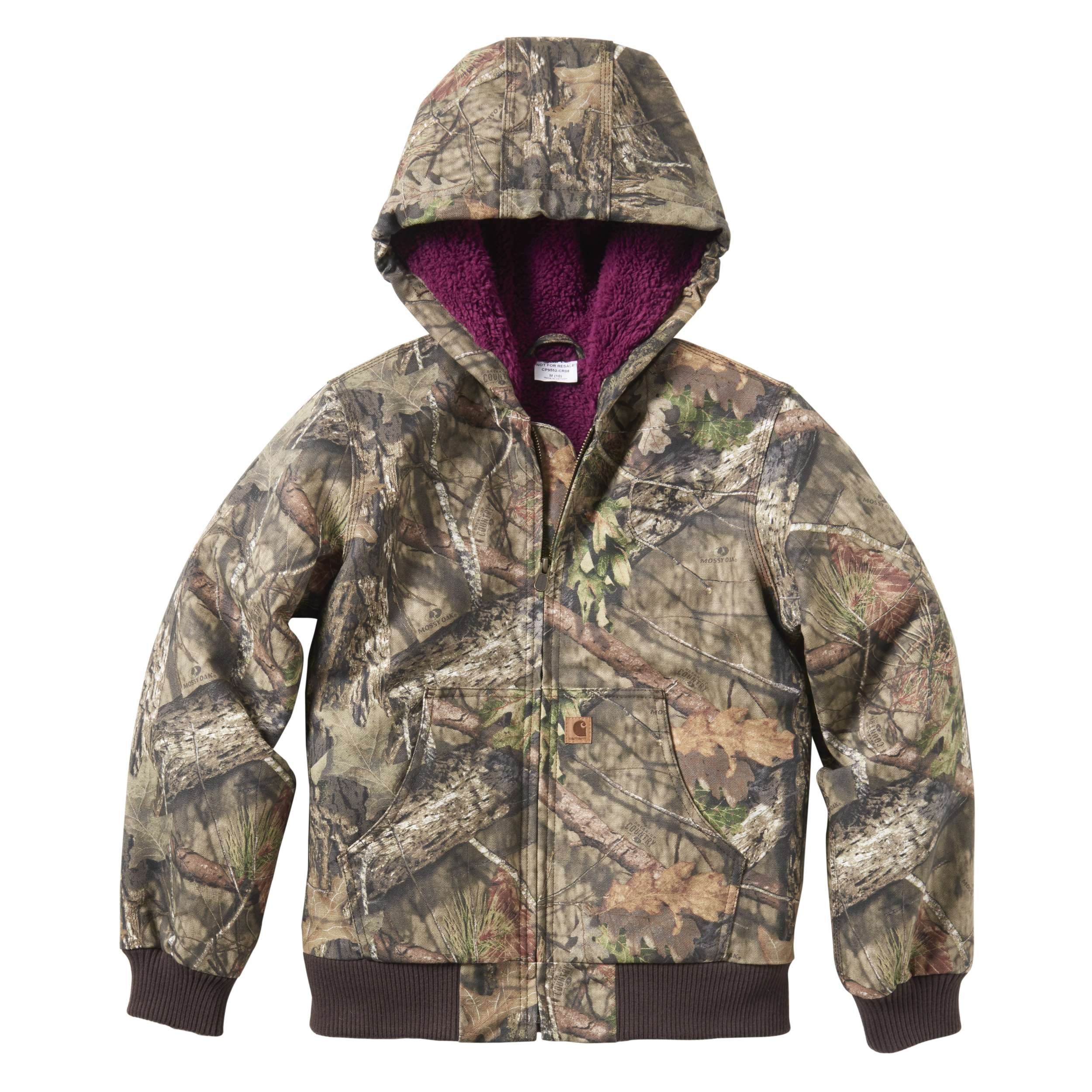 Carhartt Mossy Oak Camo Active Jac Flannel Quilt-Lined