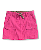 Girls' Washed Ripstop Skirt