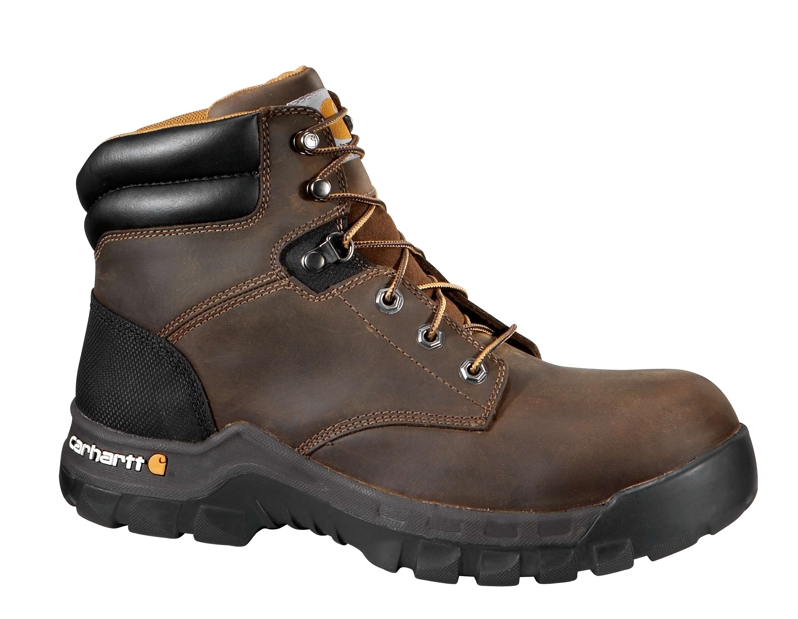 Carhartt 6 Inch Brown Rugged Flex Work Boot