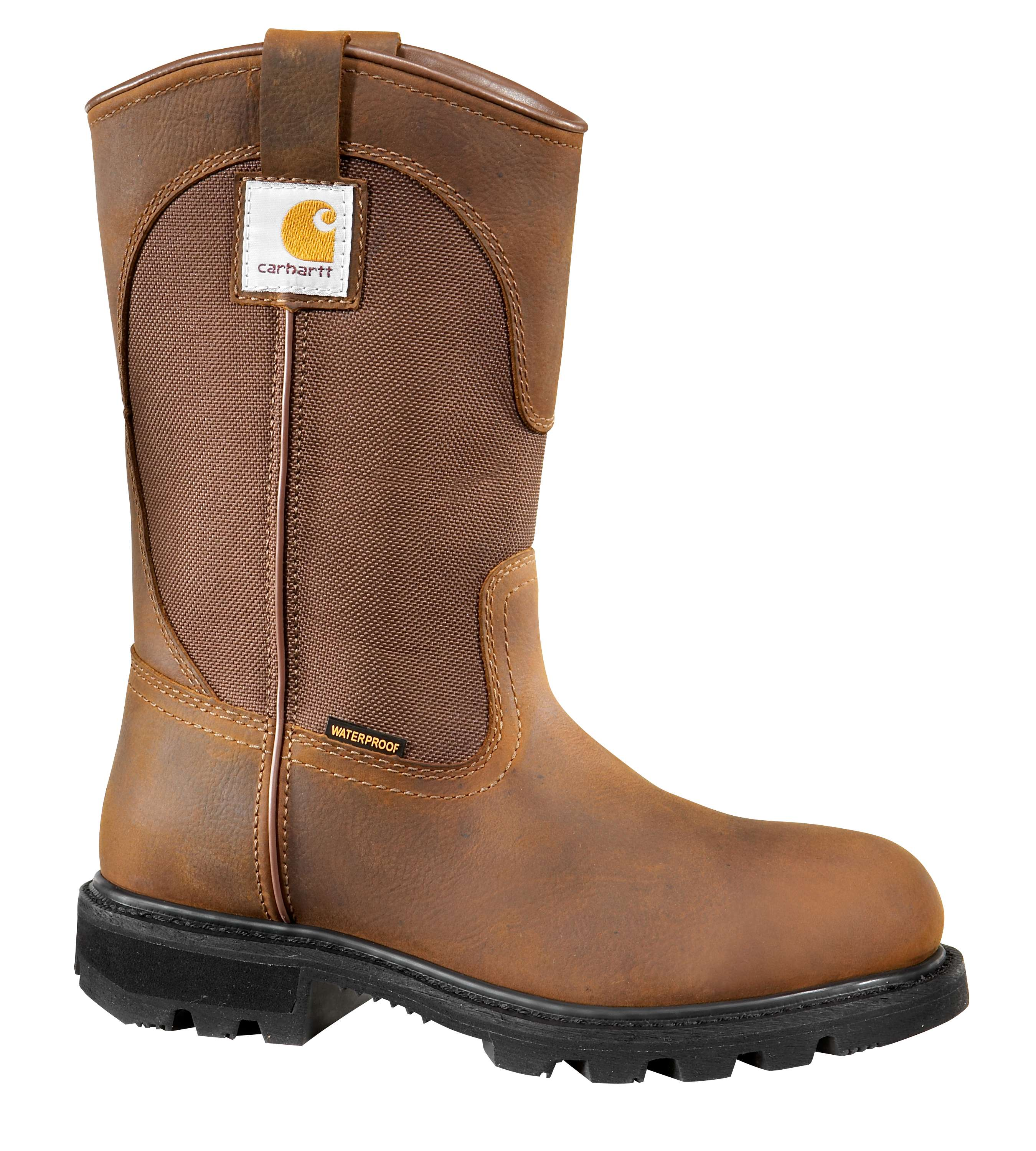 10-Inch Non-Safety Toe Wellington Boot