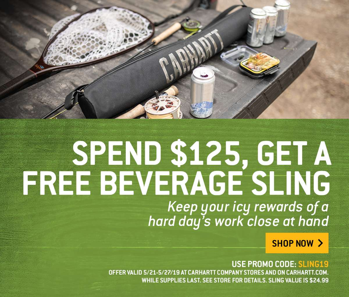 668101a5a16 Get a free beverage sling and some new Carhartt gear - Carhartt.com Email  Archive