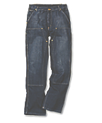 EB227 : DOUBLE FRONT LOGGER JEANS