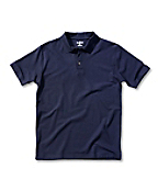 EK057:POCKETLESS PIQUE POLO S/S