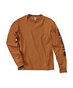 EK231:LOGO LONG SLEEVE T-SHIRT