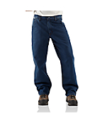 Men's Flame-Resistant Denim Dungaree