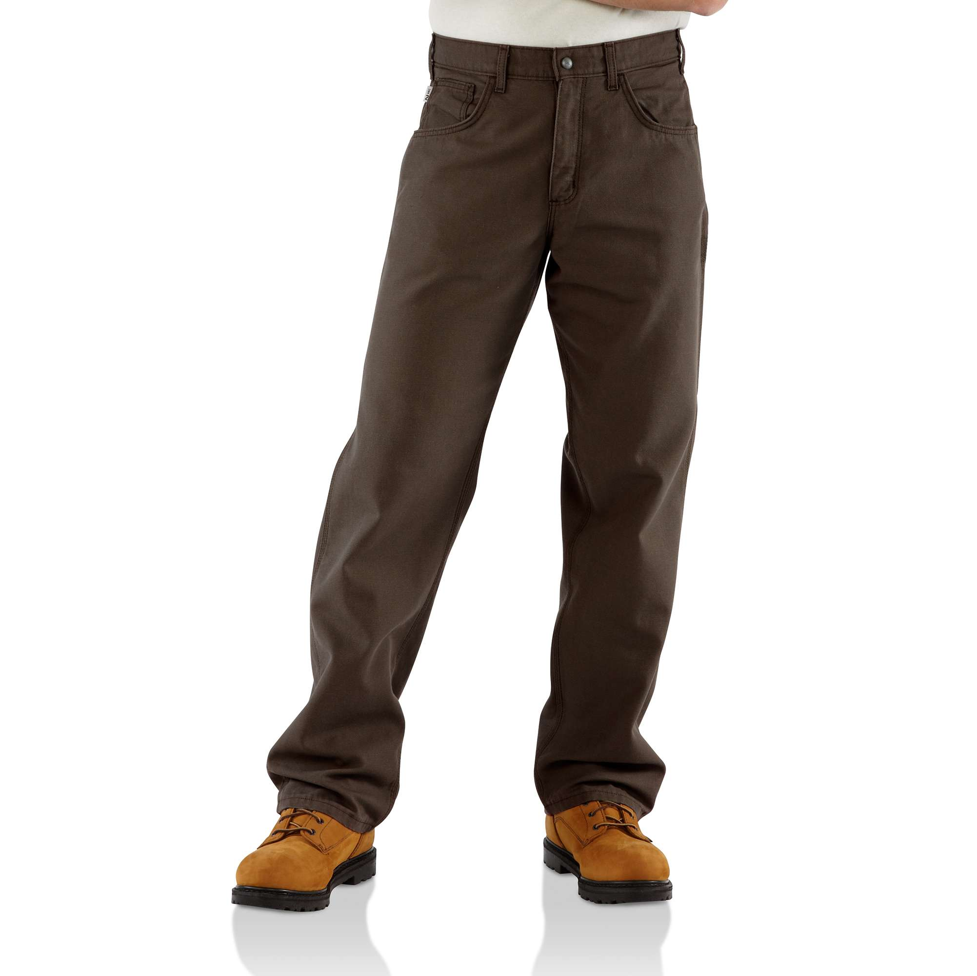 Men Flame-resistant Loose Fit Midweight Canvas Work Pant | Carhartt