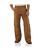 Men's  Flame-Resistant Midweight Canvas Waist Overall/Quilt-Lined