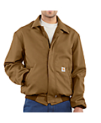 Men's Flame-Resistant All-Season Bomber Jacket