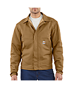 Men'PFlame-Resistant Midweight Canvas Dearborn Jacket