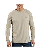 Men's Flame-Resistant Carhartt Force® Long-Sleeve T-Shirt