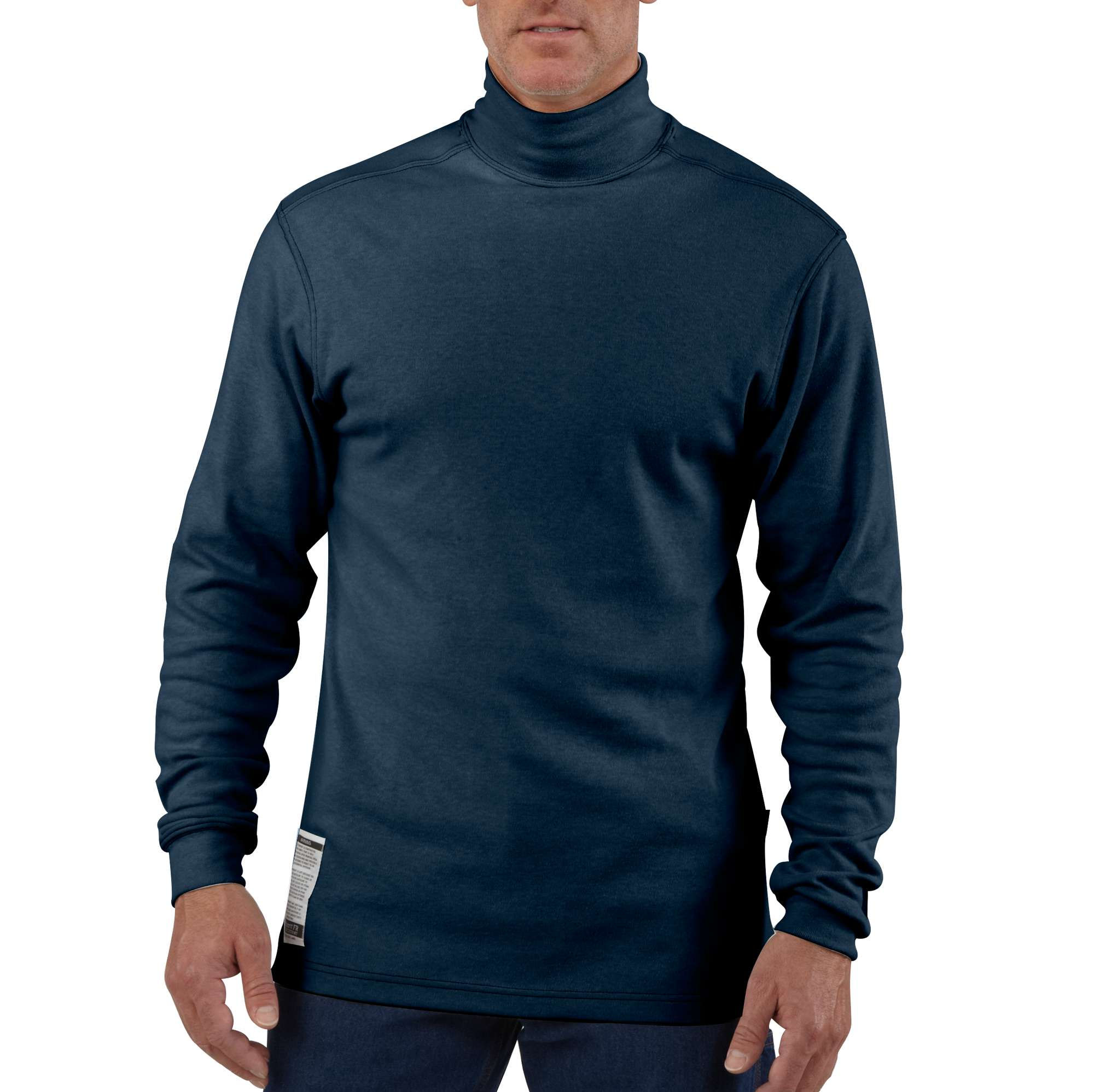 photo: Carhartt Flame-Resistant Long-Sleeve Mock Turtleneck hiking shirt