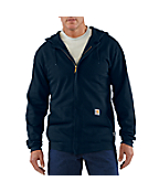 Men's  Flame-Resistant Hooded Zip-Front Sweatshirt