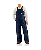 Men's Flame-Resistant Duck Bib Overall/Quilt Lined