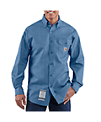Men's Flame-Resistant Chambray Shirt