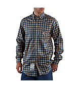 Men's Flame-Resistant Plaid Shirt