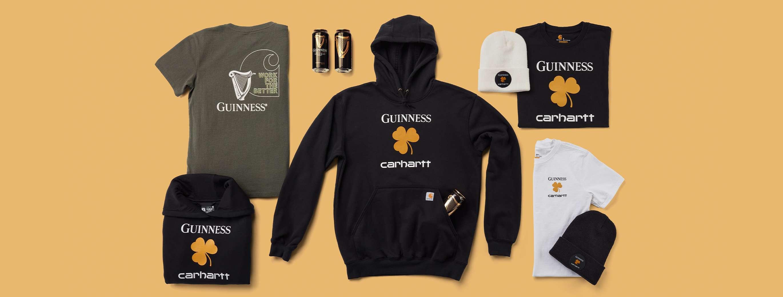 Guinness & Carhartt Gear