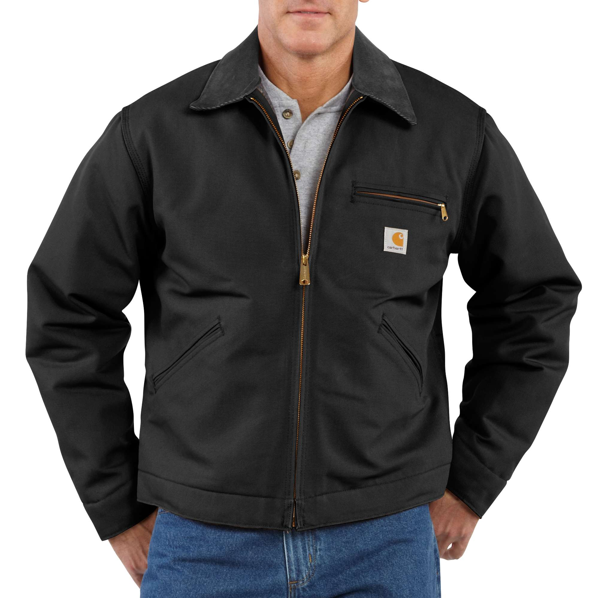 Carhartt Duck Detroit Blanket-Lined Jacket