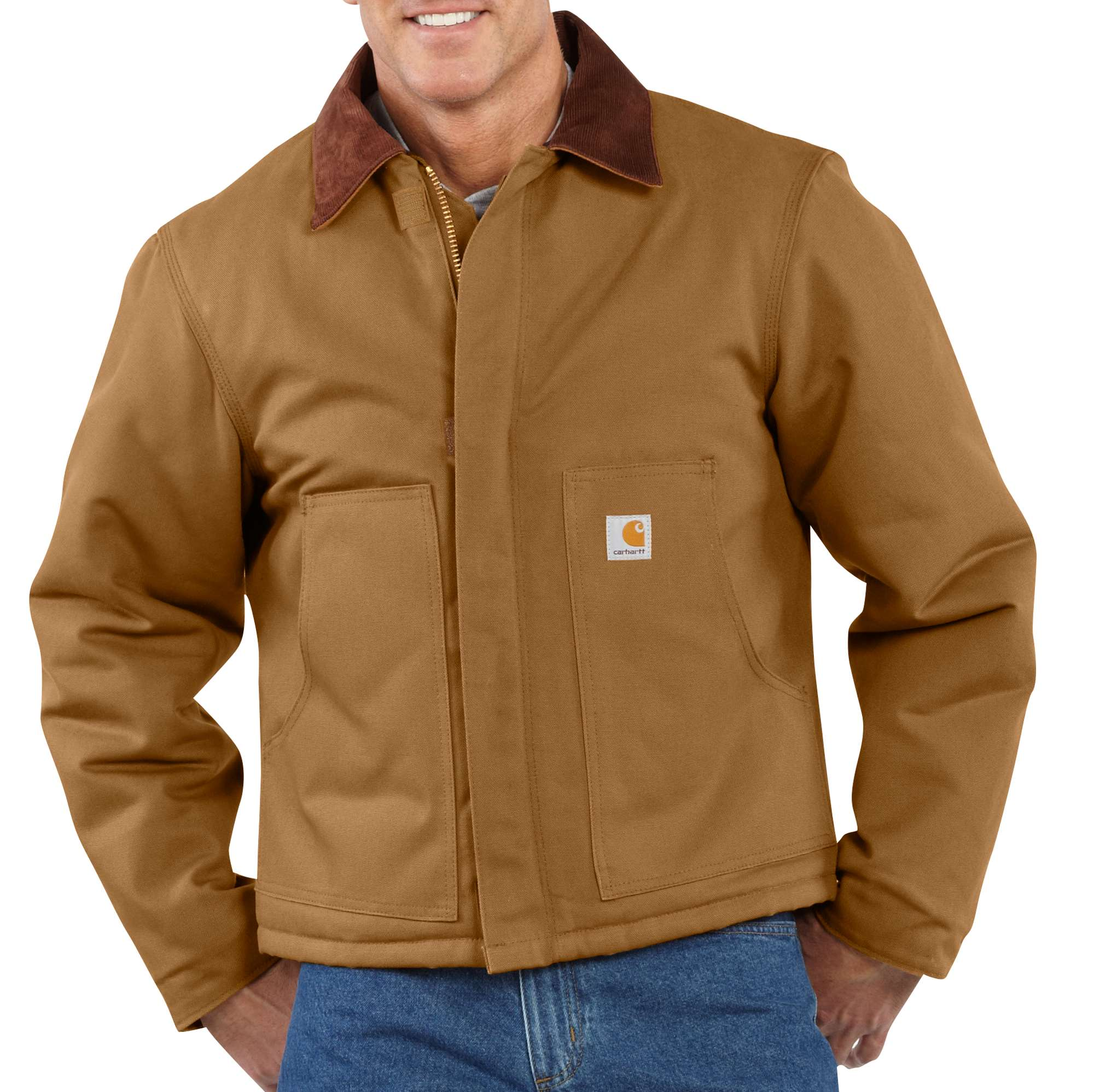 Carhartt Duck Traditional Jacket / Arctic Quilt Lined