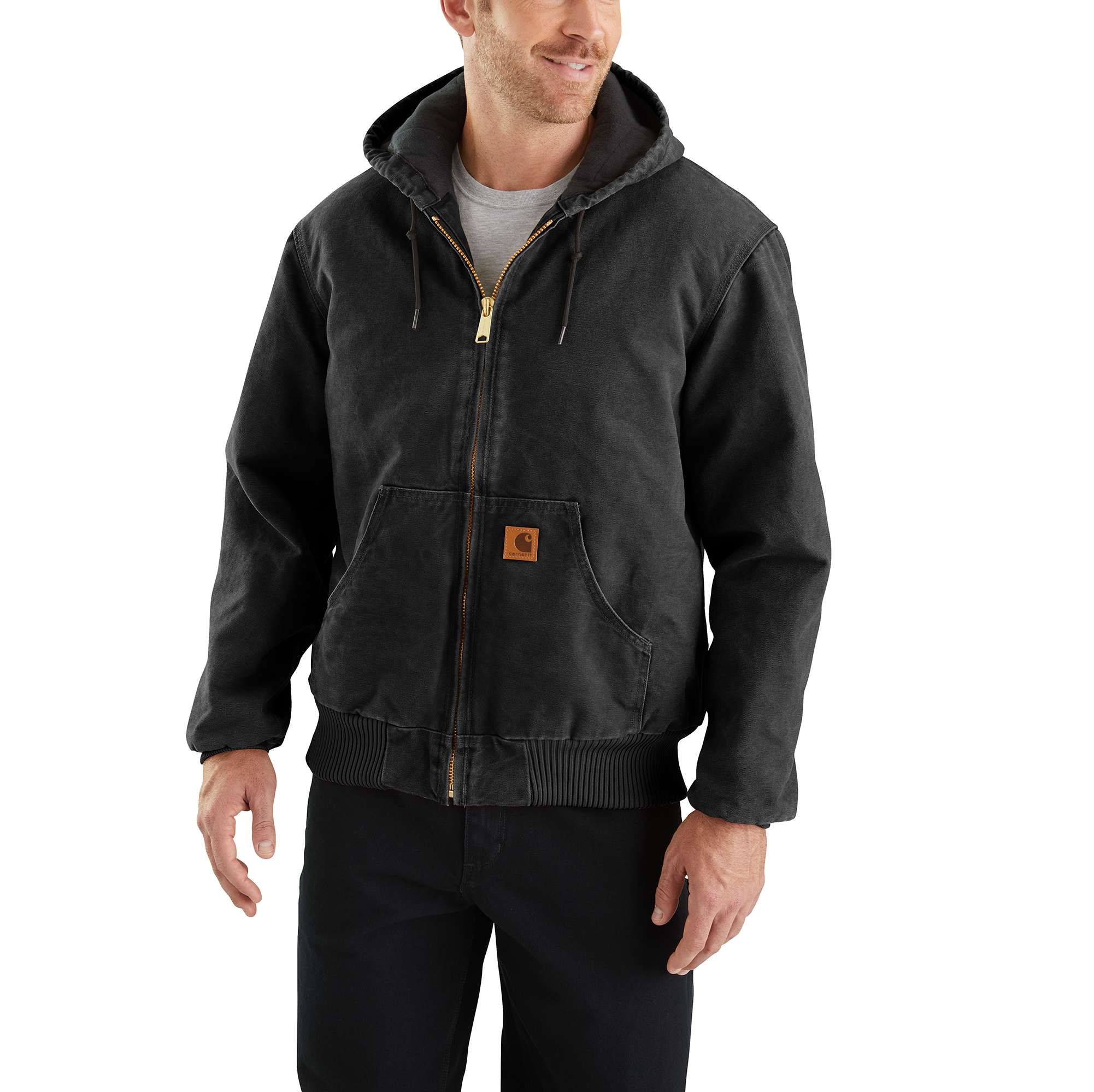 Carhartt Sandstone Quilted Flannel-lined Active Jac | Men | Carhartt