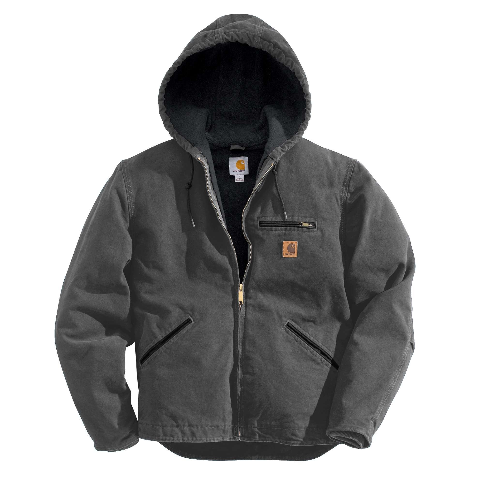 Carhartt Men Sandstone Sherpa-lined Sierra Jacket | Carhartt