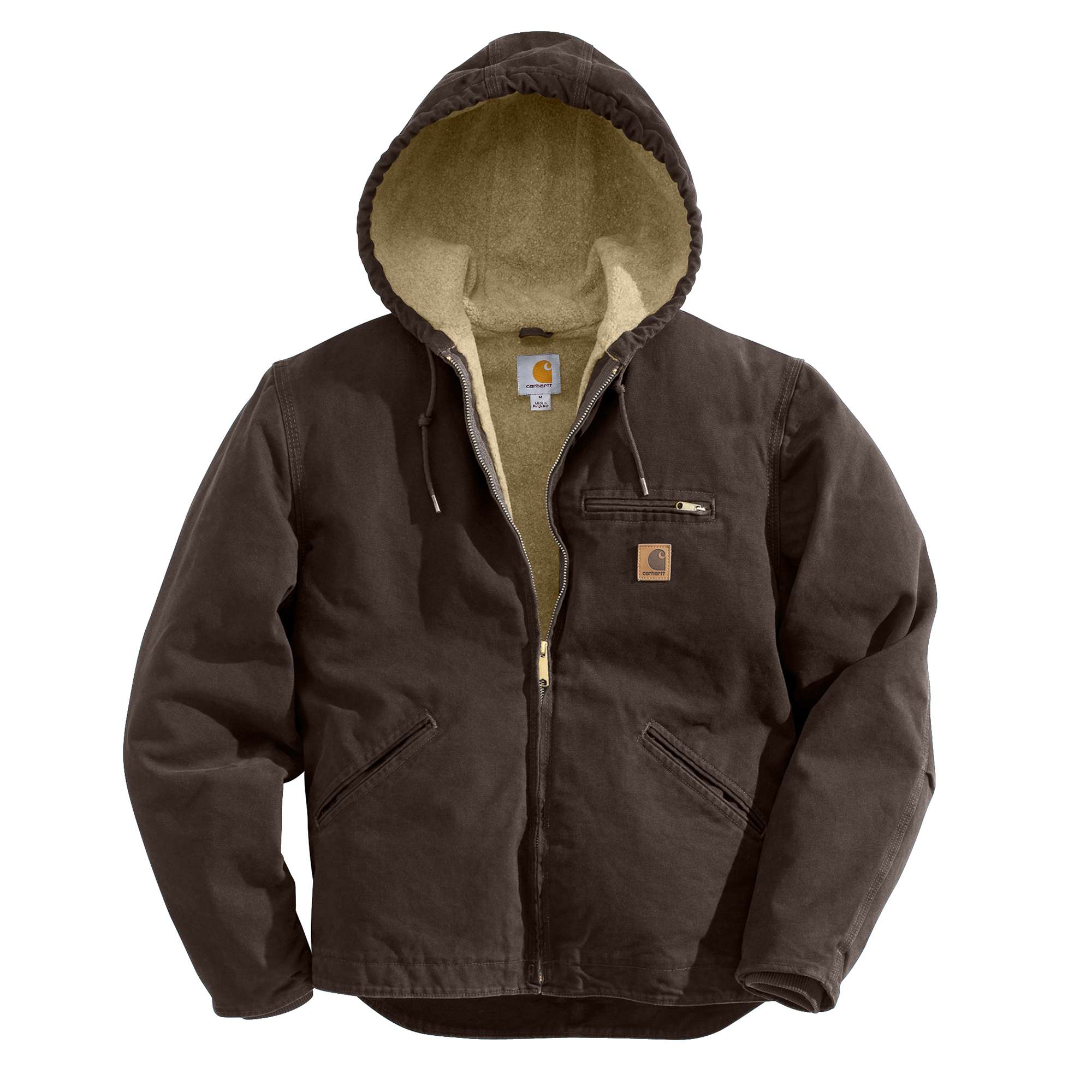 photo: Carhartt Sandstone Sierra Jacket/Sherpa Lined synthetic insulated jacket