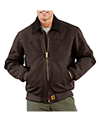 Men's Sandstone Santa Fe Jacket/Quilted- Flannel Lined