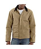 Men's Sandstone Dearborn Jacket/Sherpa Lined