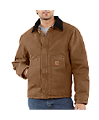 Men's Sandstone Traditional Jacket/Arctic Quilt Lined