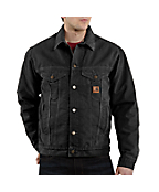 Men's Sandstone Jean Jacket/Sherpa Lined