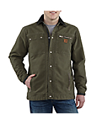 Men's Sandstone Multi-Pocket Jacket/Quilt Lined
