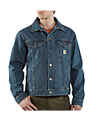 Men's Denim Jean Jacket/Unlined