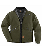 Men's Sandstone Detroit Jacket/Sherpa Lined