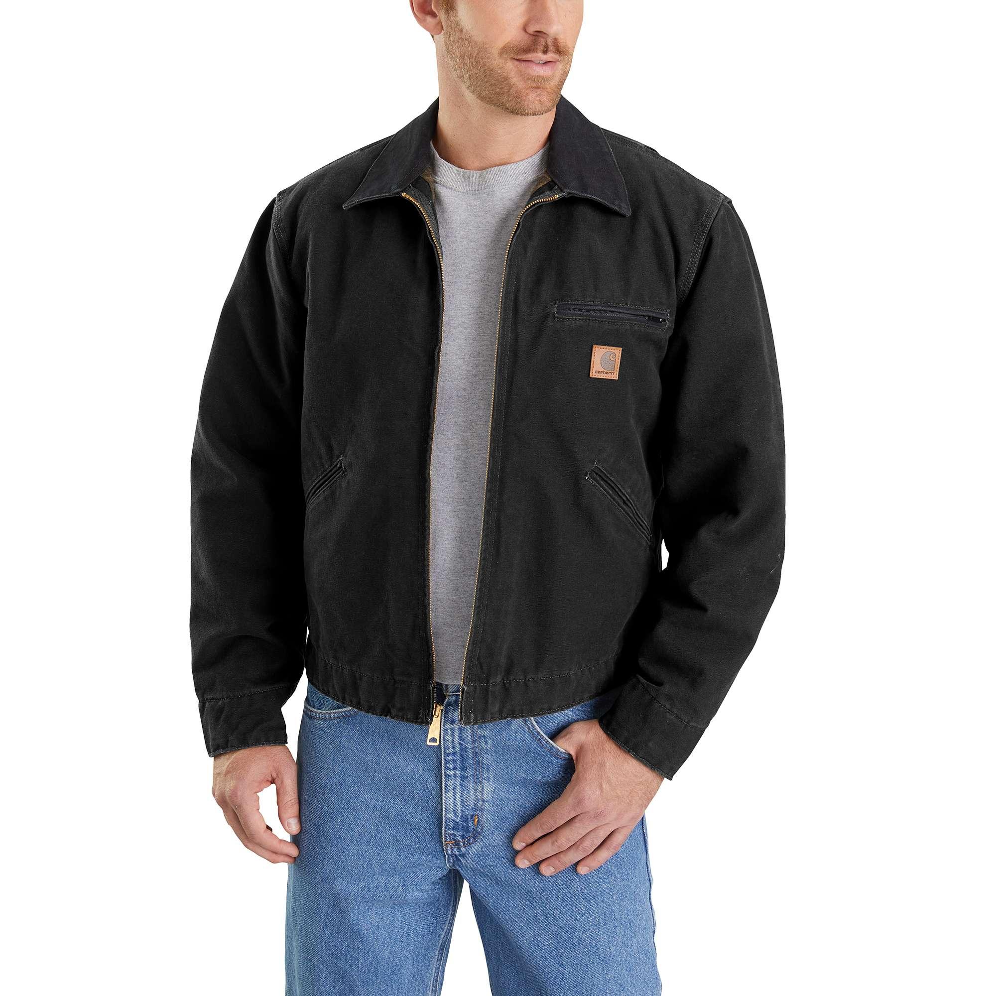 Carhartt Sandstone Detroit Jacket / Blanket Lined