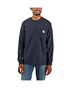 Men's Workwear Pocket Long-Sleeve T-Shirt