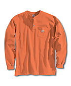 Men's Long Sleeve Workwear Henley
