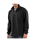 Men's Heavyweight Zip-Mock Sweatshirt