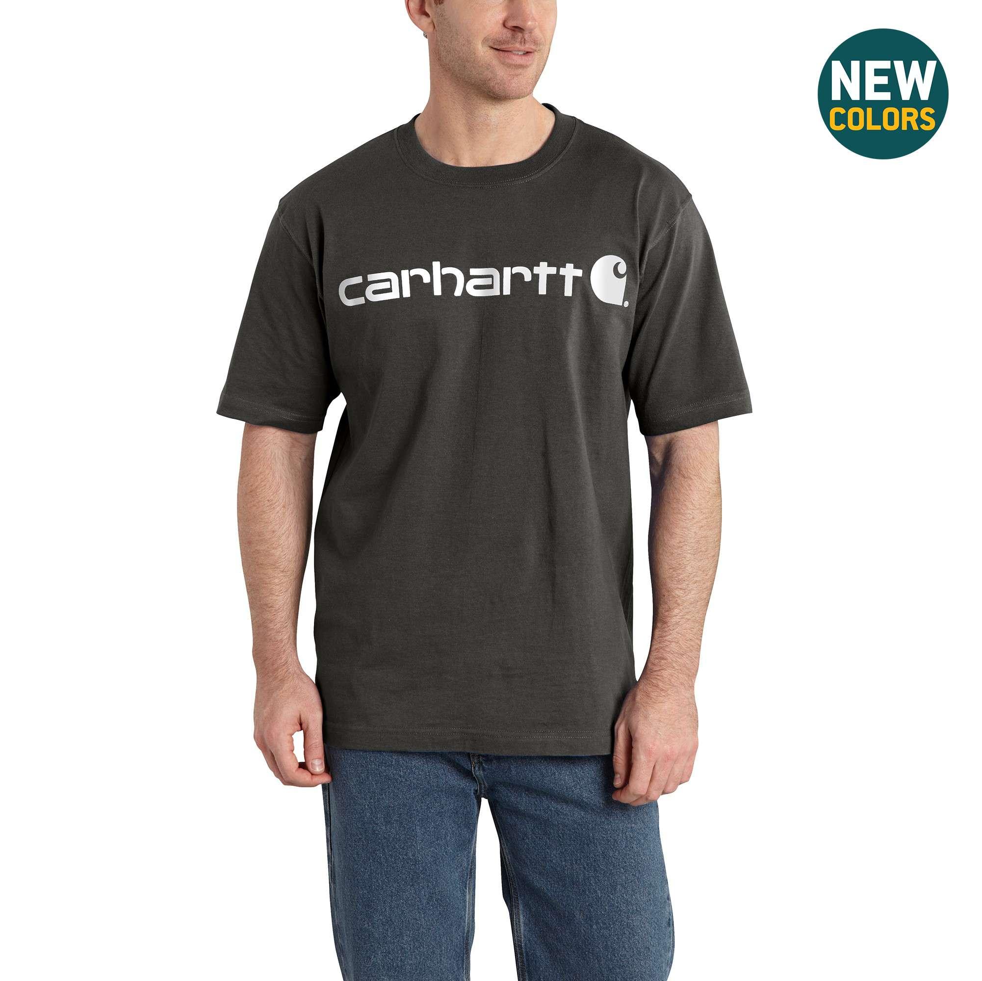Carhartt Short-Sleeve Logo T-Shirt