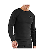 Men's Heavyweight Cotton Thermal Crew Neck Top